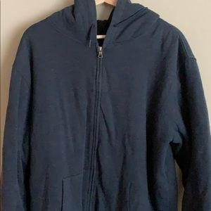 Quicksilver Jacket / Sweater blue/grey size L